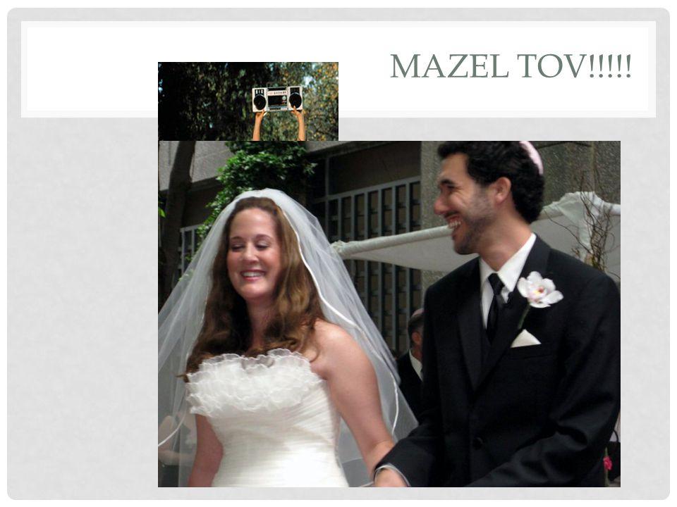 MAZEL TOV!!!!!