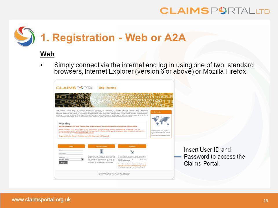 www.claimsportal.org.uk 1.