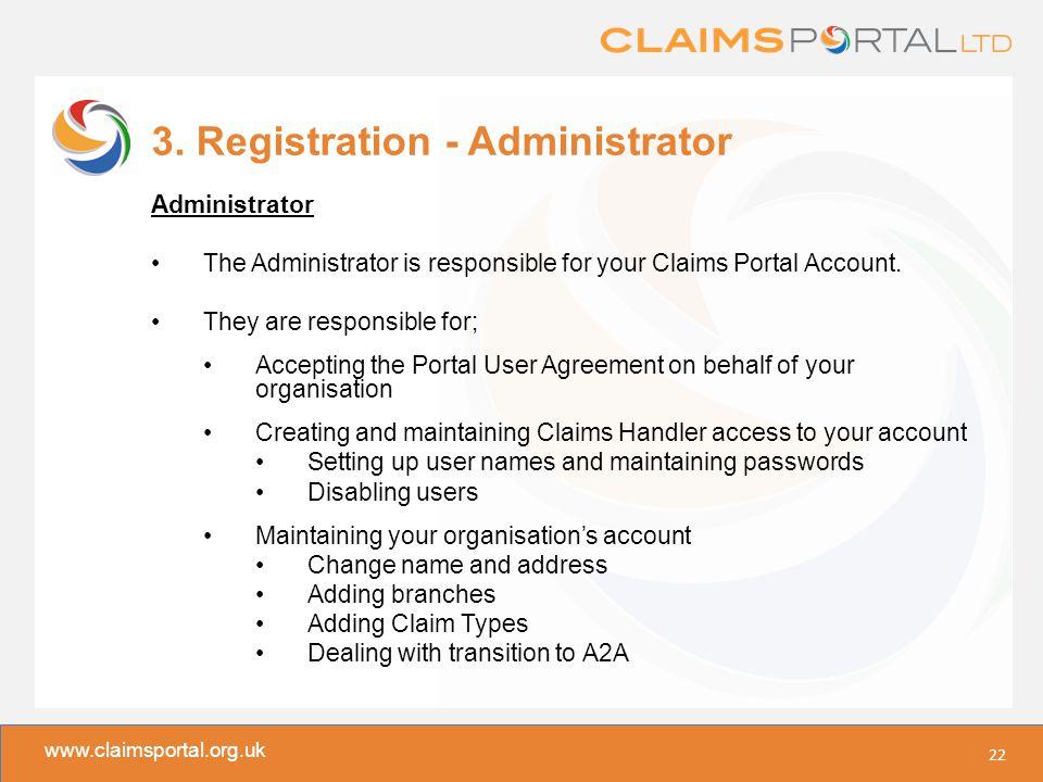 www.claimsportal.org.uk 3.