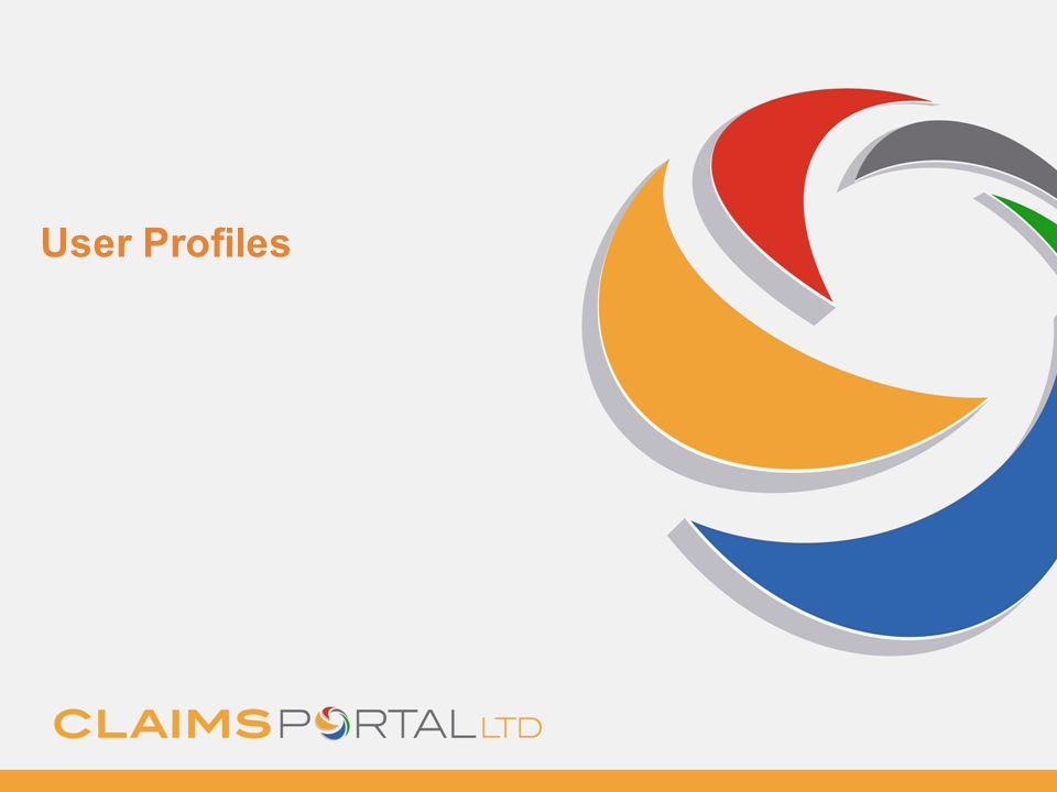 www.claimsportal.org.uk User Profiles
