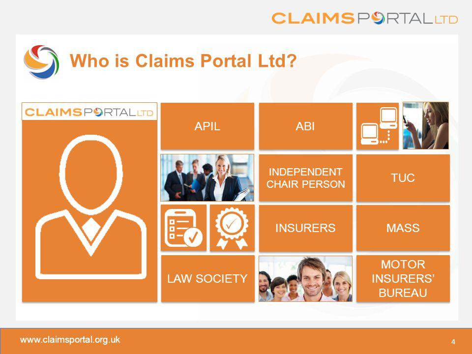 www.claimsportal.org.uk Who is Claims Portal Ltd.