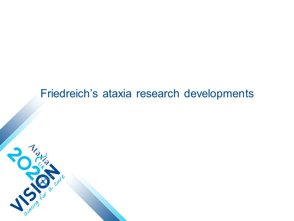 Friedreich's ataxia research developments