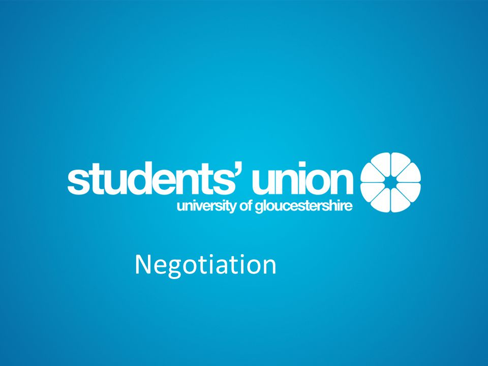 Skills you need to negotiate.
