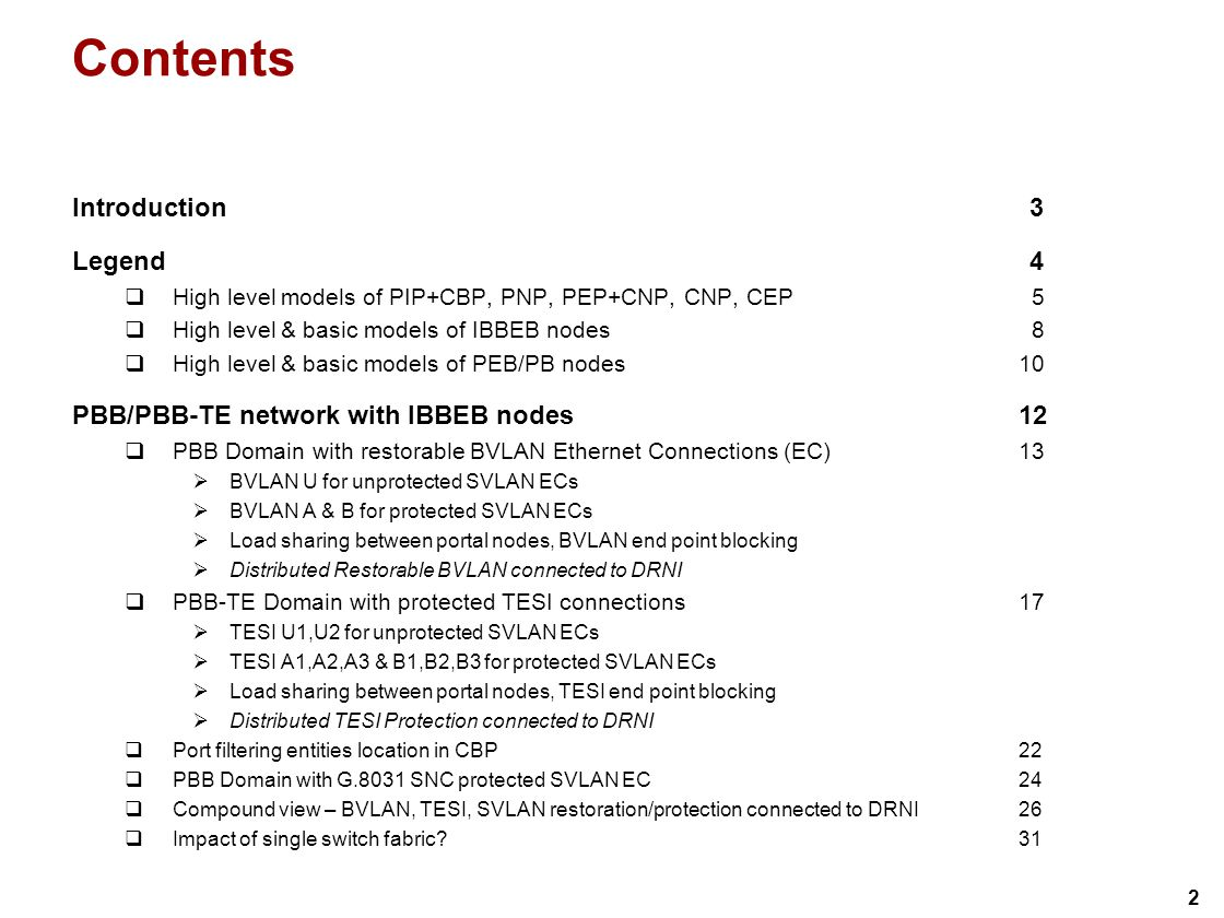 23 Port filtering entities location in CBP.