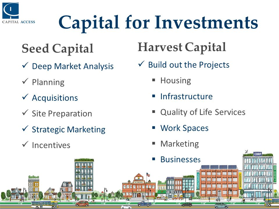 Raise Capital Planning – Market analysis, relationship building and professional services.