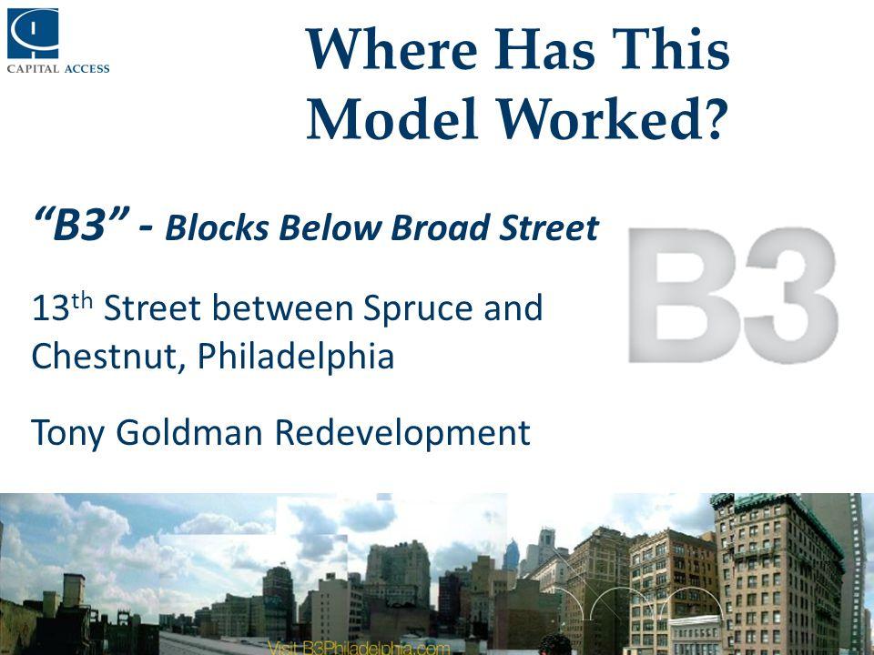How Capital Access Facilitates Economic Revitalization Strategies