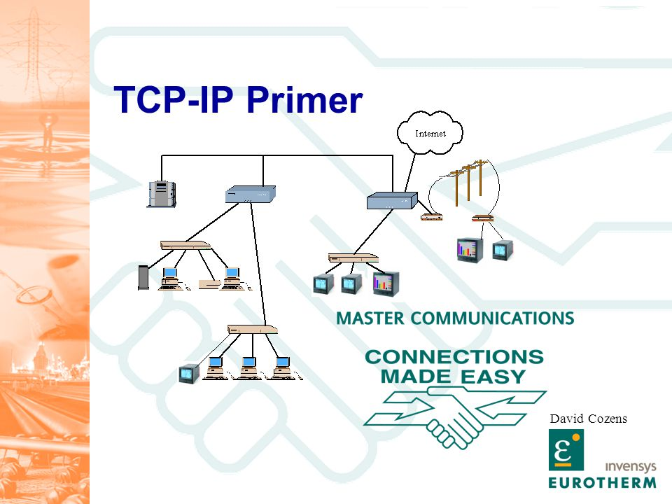 Targets Have a basic understanding of Ethernet network technology Be aware of how this technology is applied on the 5000 series.