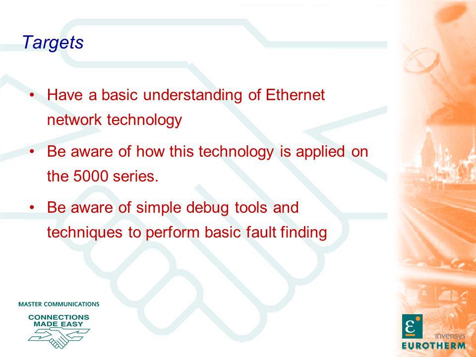 Network Training - Underlying Technology Ethernet IP TCP