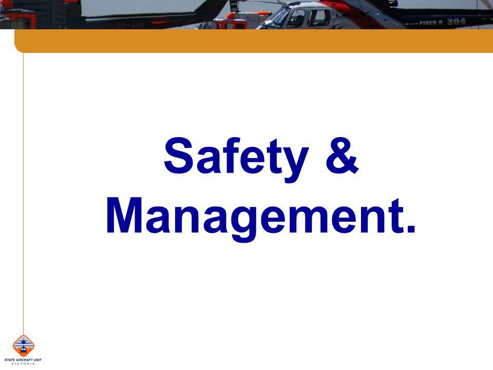 Safety & Management.