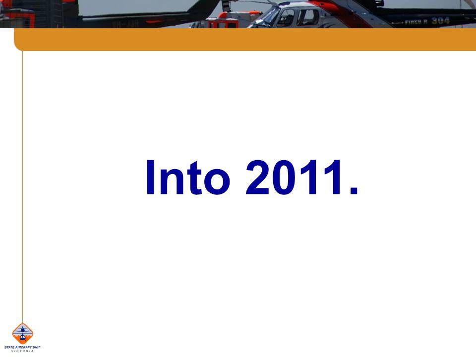 Into 2011.