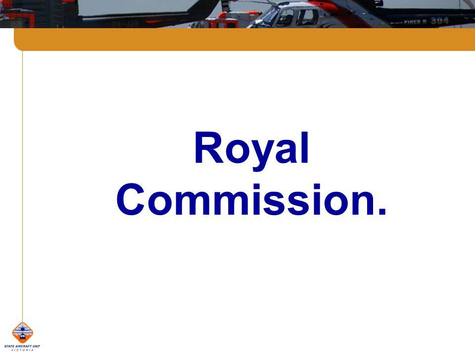 Royal Commission.