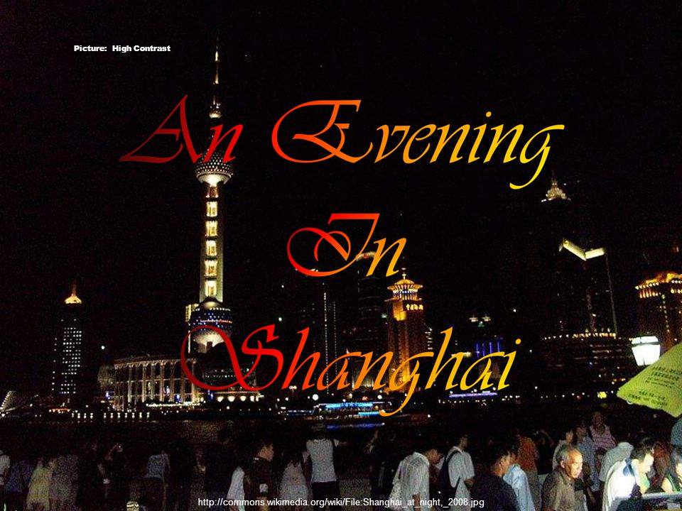http://commons.wikimedia.org/wiki/File:Shanghaiatnightpic1.jpg Pudong - Picture: decade_null 11/60