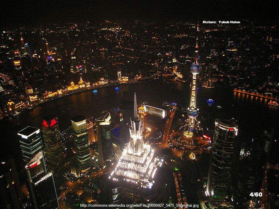 http://commons.wikimedia.org/wiki/File:Shanghaiatnightpic2.jpg Nanjing Road - Picture: Mats Linander 44/60
