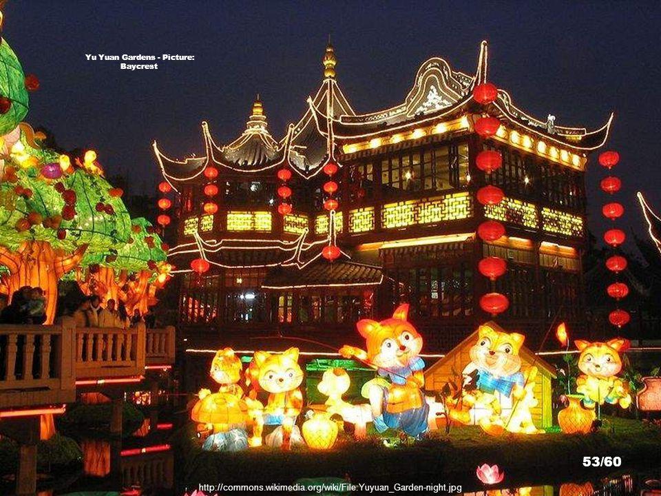http://commons.wikimedia.org/wiki/File:Yu_Yuen_20090227_02.jpg Yu Yuan Gardens - Picture: Goki 52/60