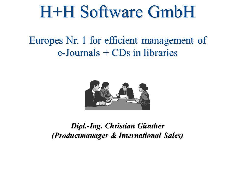 H+H Software GmbH Dipl.-Ing.