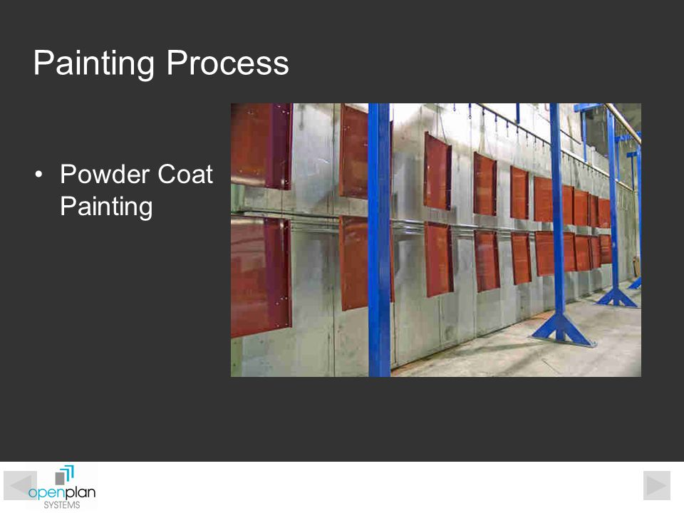 Powder Coat Painting Painting Process
