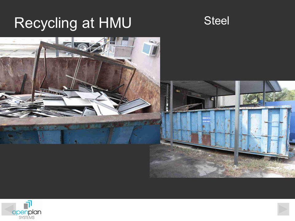 Steel Recycling at HMU