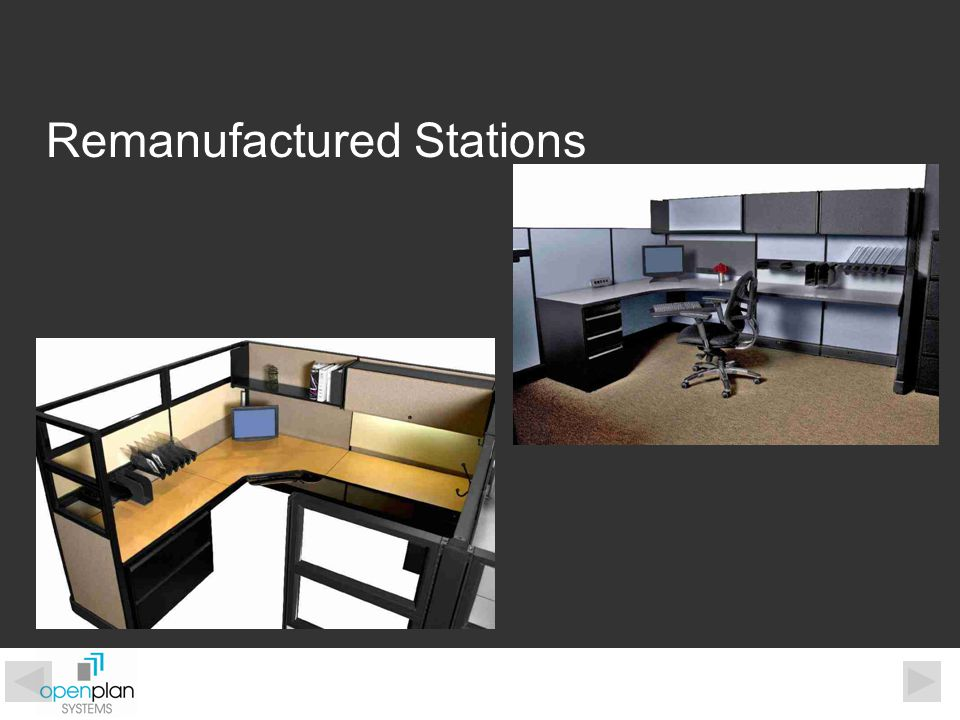 Work Surfaces Work surface support channel provides increased durability.