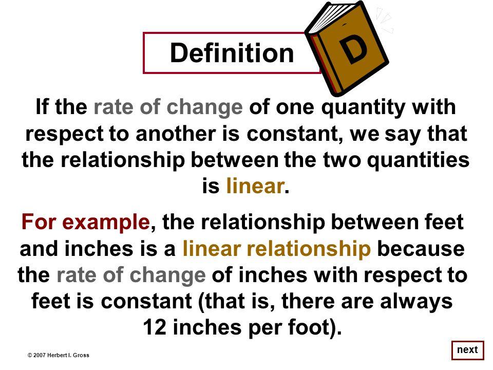 Notice, for example… © 2007 Herbert I.
