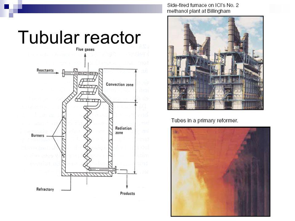 Tubular reactor (PFR)
