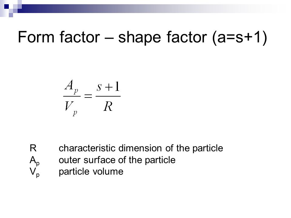 Mass balance for a catalyst particle – steady state If diffusion coefficient is constant: