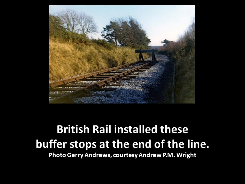 In January 2002 the Swanage Railway extended its track from Corfe Castle and Norden to meet British Rail's track at Motala.