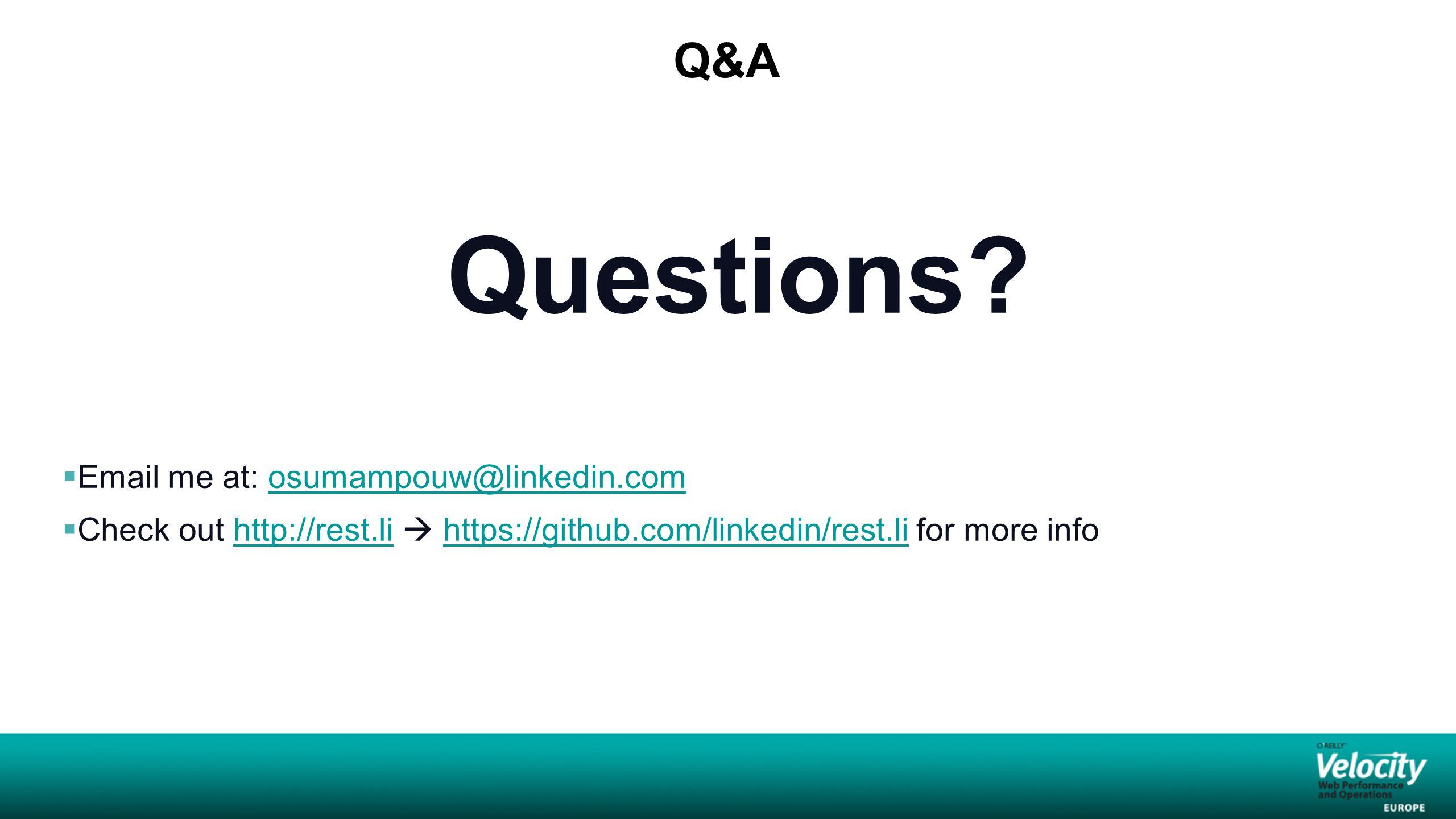 Q&A Questions.
