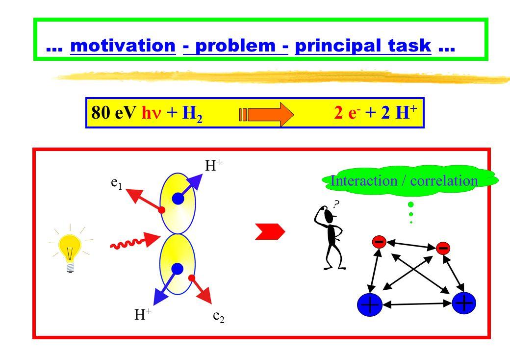 ... motivation - problem - principal task...