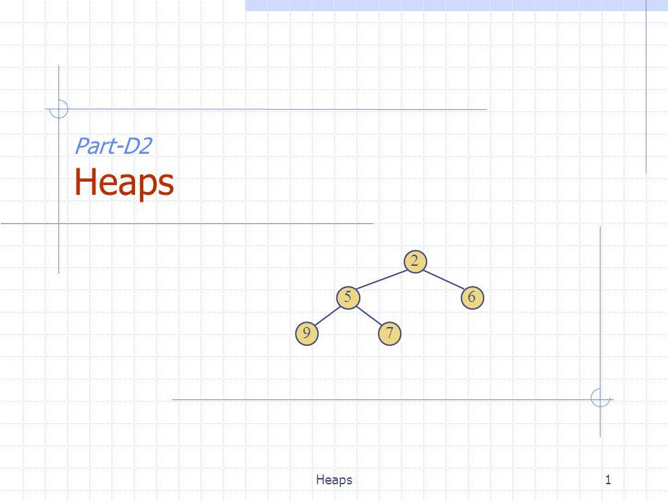 Heaps1 Part-D2 Heaps 2 65 79
