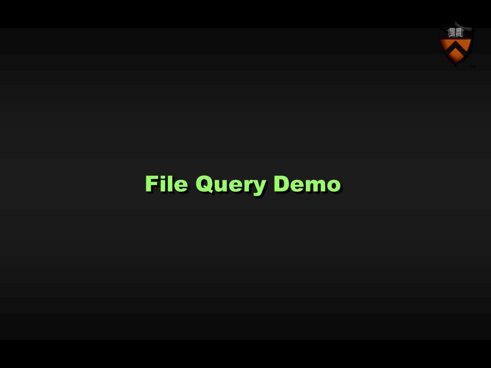 File Query Demo