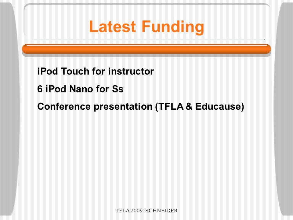 TFLA 2009: SCHNEIDER iTunesU Tab Control
