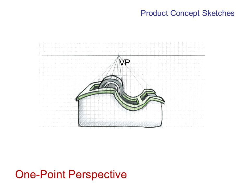 Product Concept Sketches Two-Point Perspective