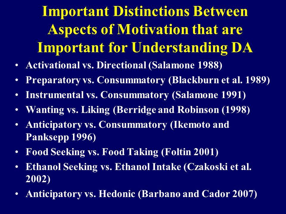 T-maze Task: A 2A or A 1 vs.D 2 Antagonism Mott et al.