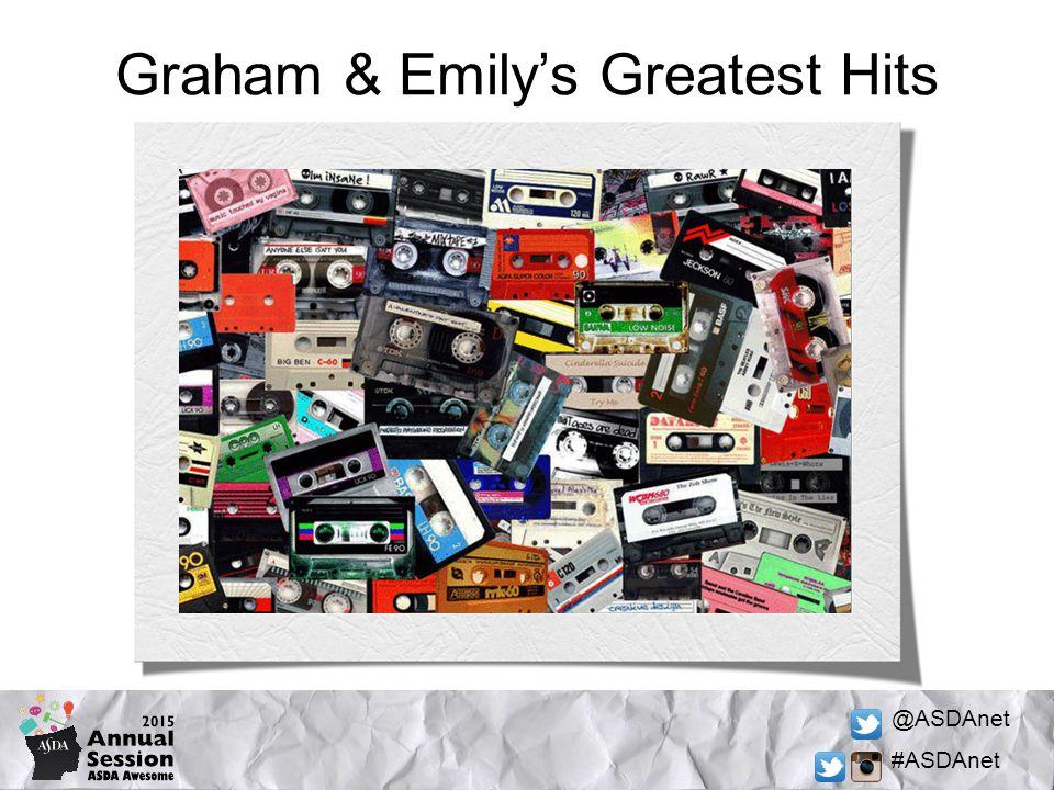 @ASDAnet #ASDAnet Graham & Emily's Greatest Hits
