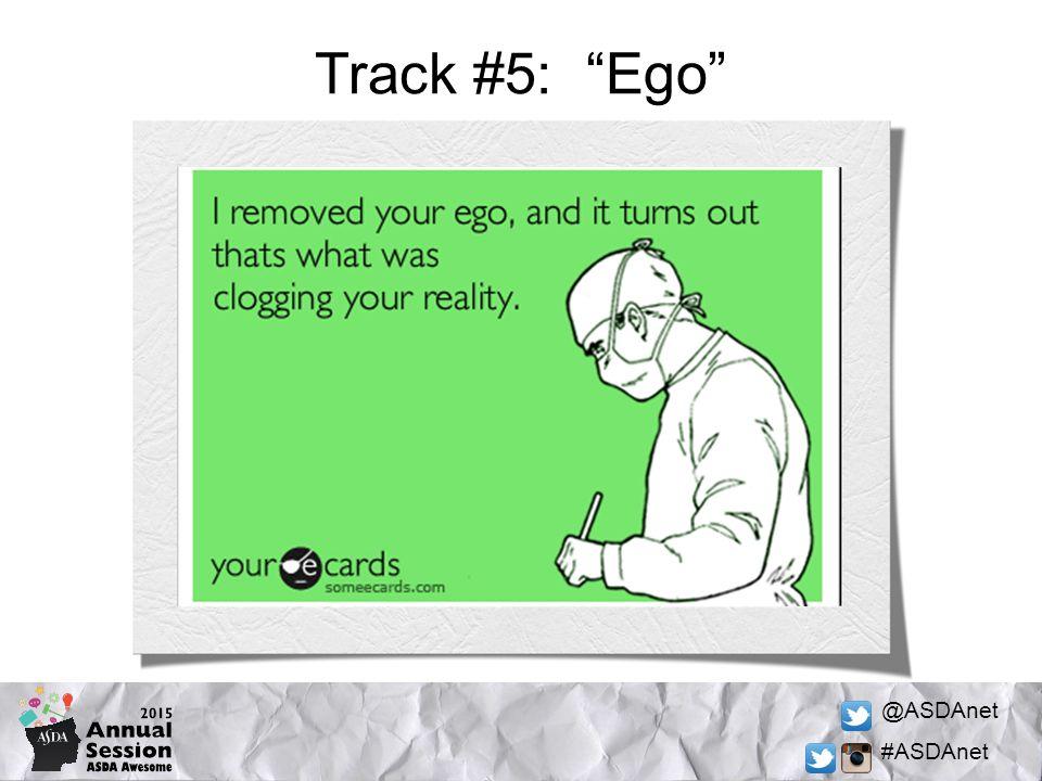 @ASDAnet #ASDAnet Track #5: Ego