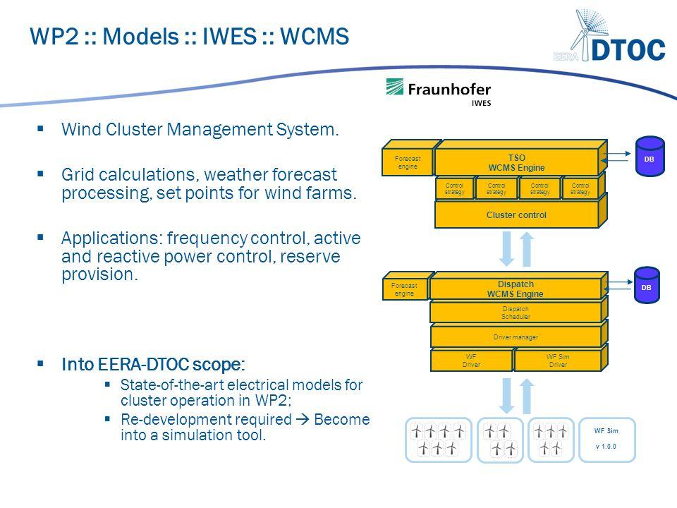  Wind Cluster Management System.