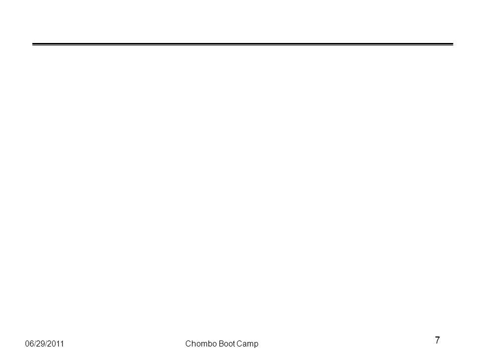06/29/2011Chombo Boot Camp 7
