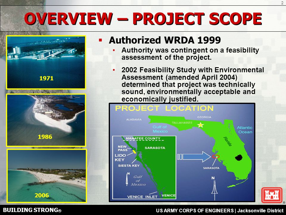 BUILDING STRONG ® US ARMY CORPS OF ENGINEERS | Jacksonville District How will the groins affect the ebb shoal in BSP.