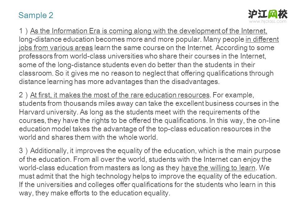 4 ) As for the professors, they also appreciate this education model very well.