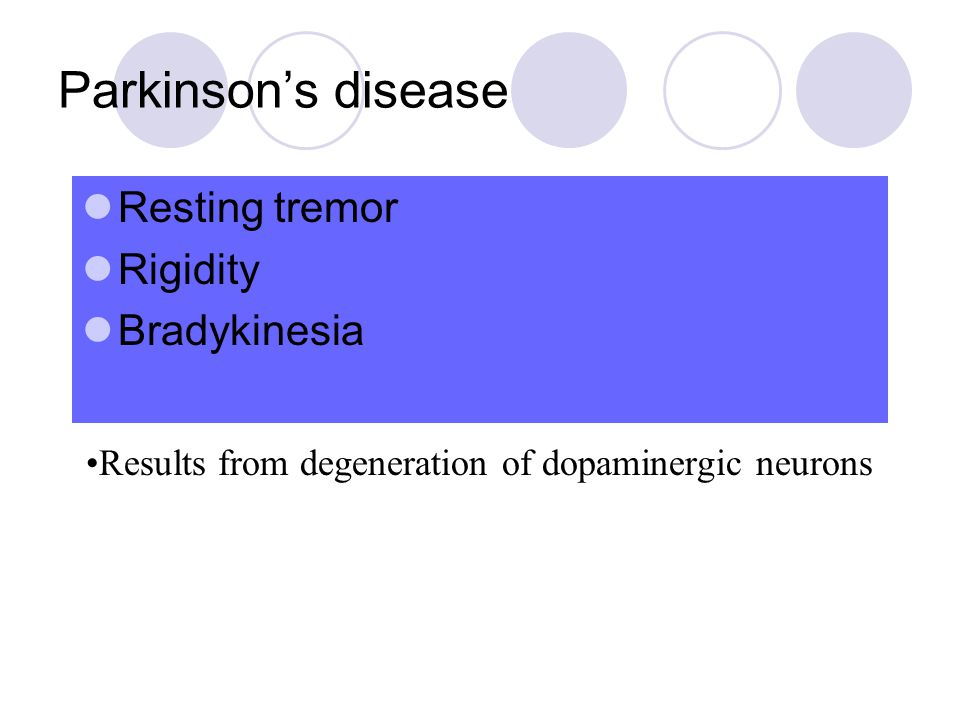 A New Target in the Treatment of Parkinson disease: The Adenosine A2a receptor