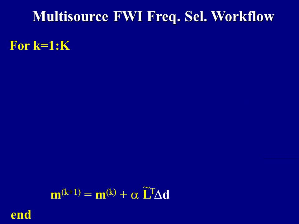 Multisource FWI Freq.Sel.