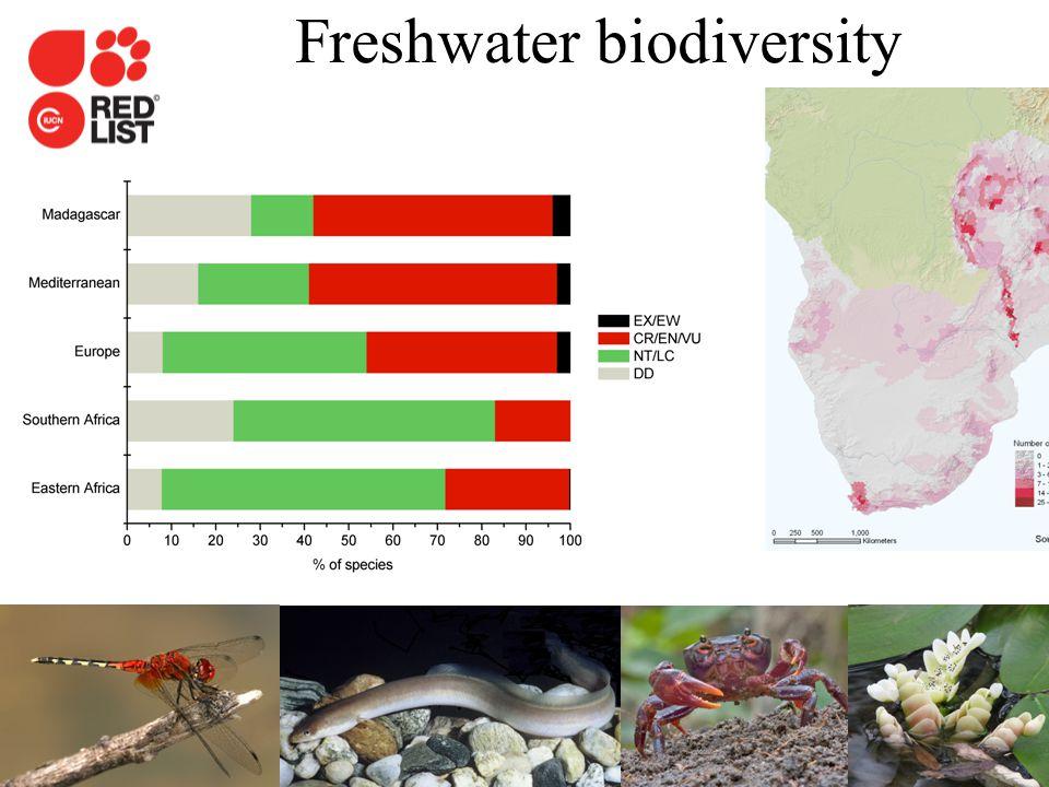 IUCN (International Union for Conservation of Nature) Freshwater biodiversity Darwall et al.