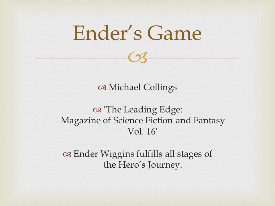   Michael Collings  'The Leading Edge: Magazine of Science Fiction and Fantasy Vol.