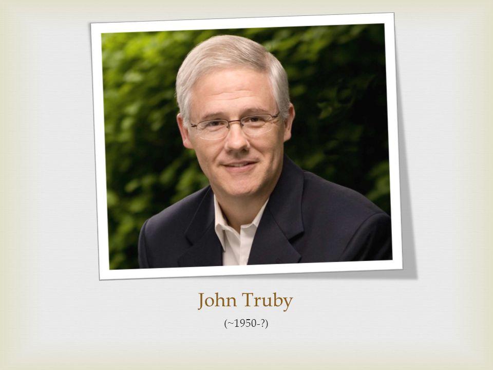 John Truby (~1950-?)
