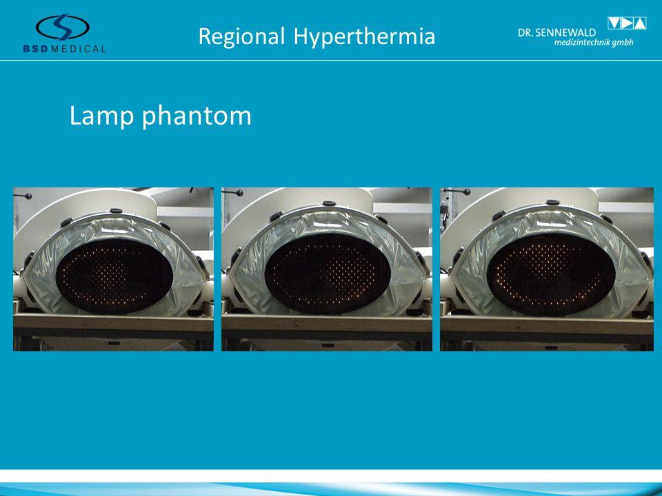 Lamp phantom Regional Hyperthermia
