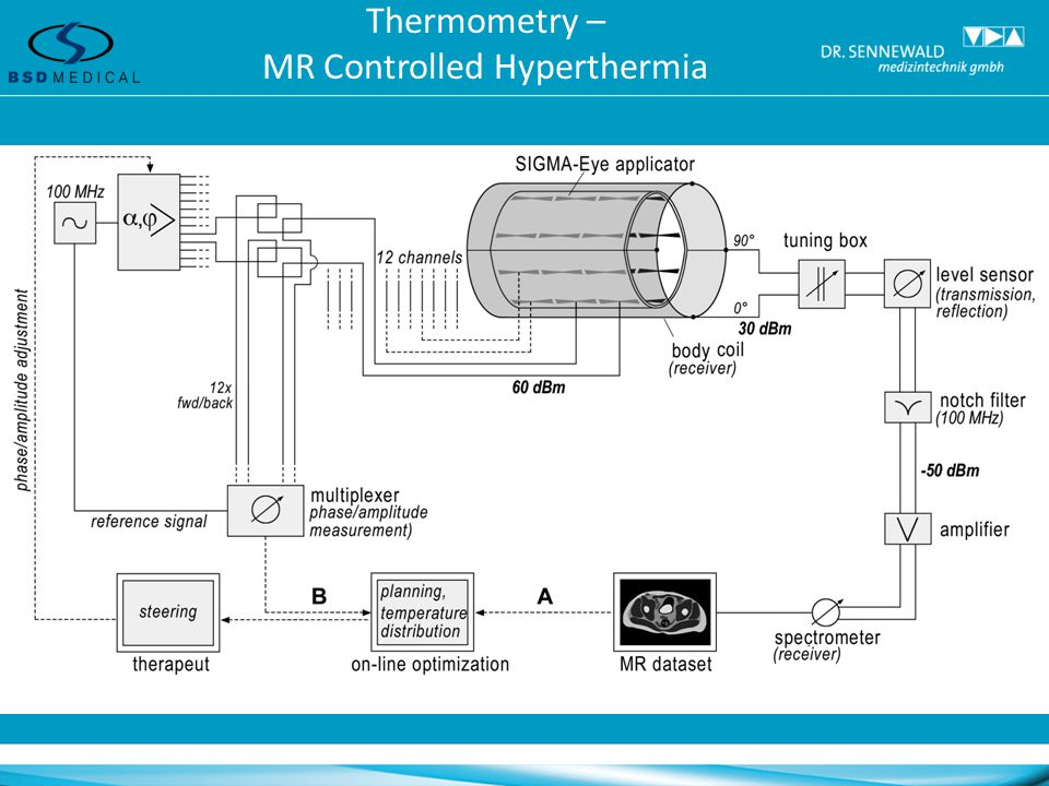 Thermometry – MR Controlled Hyperthermia
