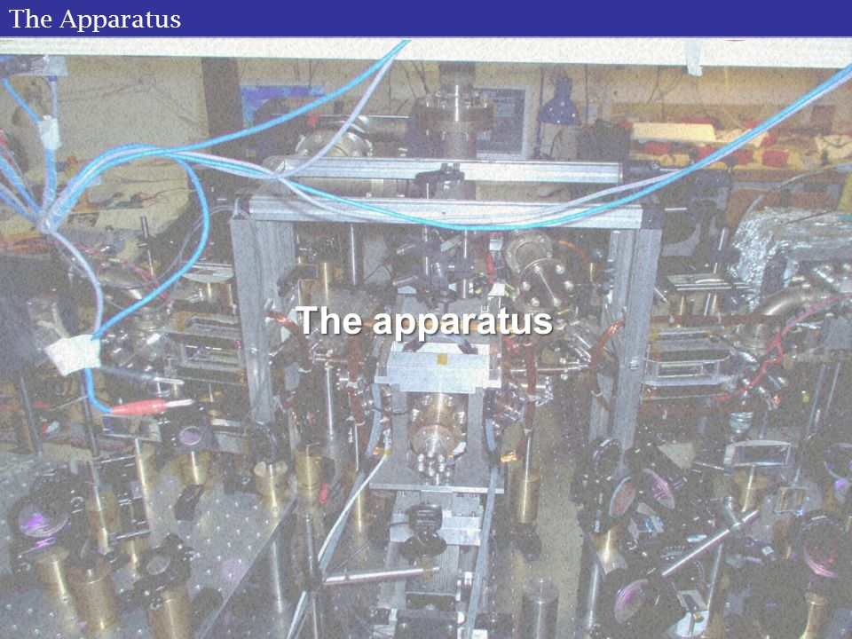 The Apparatus The apparatus