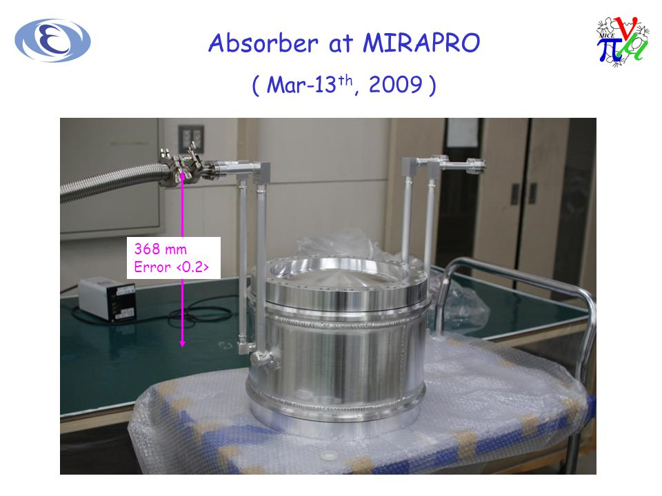 Absorber at MIRAPRO ( Feedthrough and Parts ) G-10 Support Parts L-H2 In and 30 Pin Feedthrough