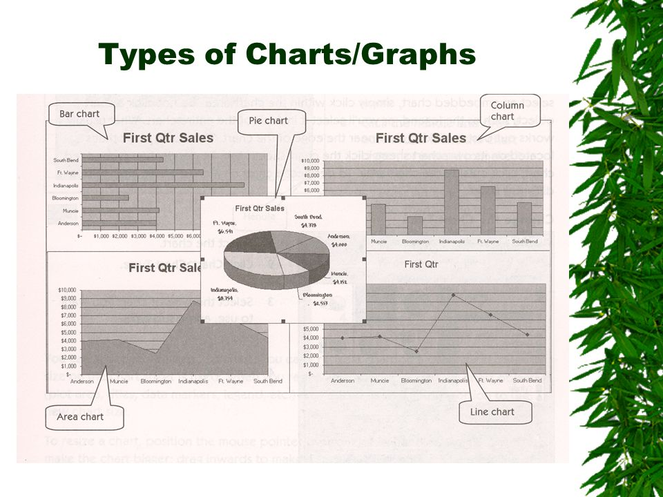 Types of Charts/Graphs