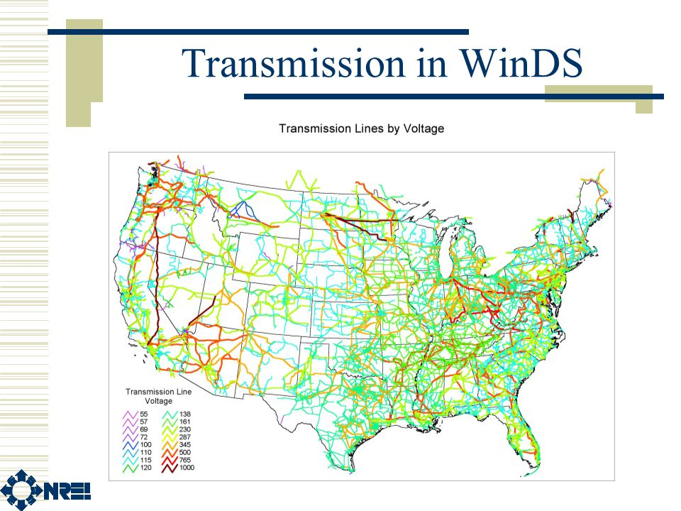 Transmission in WinDS